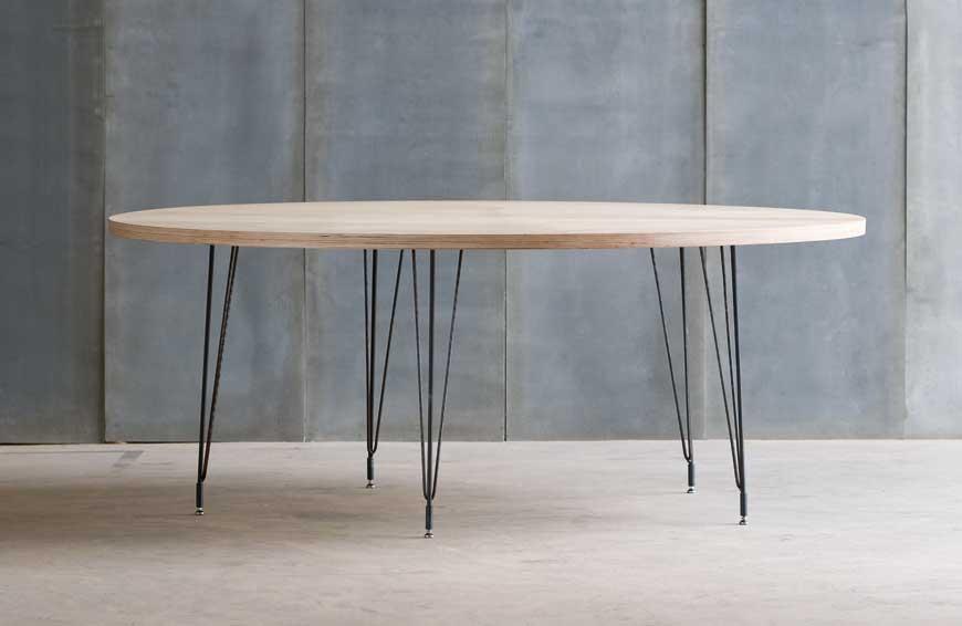 heerenhuis manufactuur tables sputnik mtm. Black Bedroom Furniture Sets. Home Design Ideas