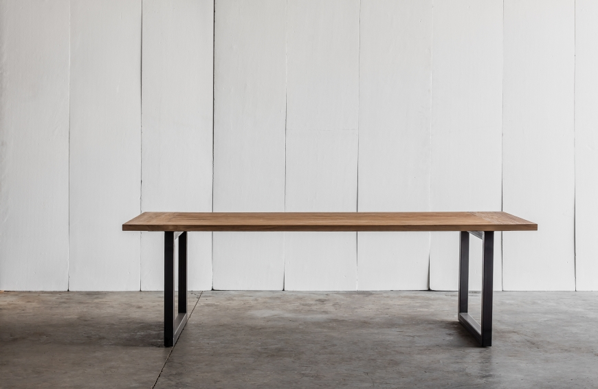 Tafel Table Tube Teak