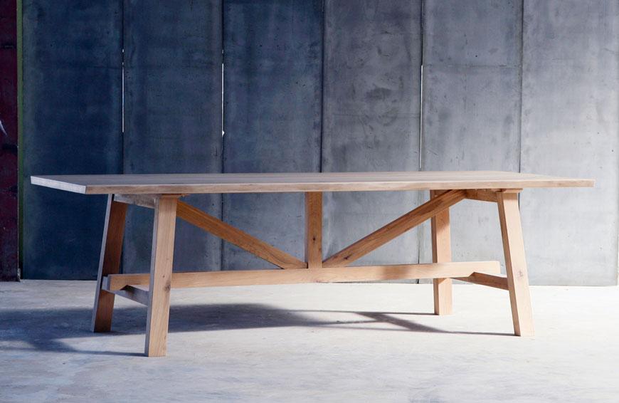 Tafel Table Larbus Oak